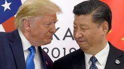 트럼프가 홍콩 문제 해결에 강한 의지를 보이며 시진핑에게