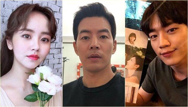 왼쪽부터 김소현, 이상윤,
