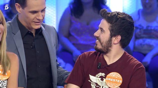 El error ortográfico en el regalo de Orestes a Christian Gálvez en 'Pasapalabra'