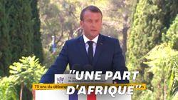Macron plaide pour des rues aux noms de soldats africains pour leur rendre
