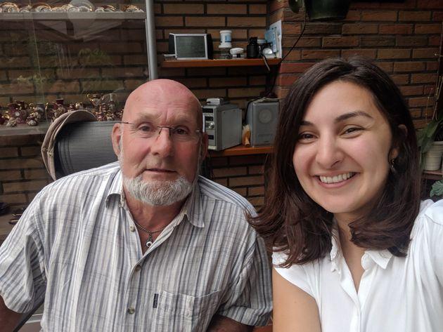 Mevan Babakar y Egbert, juntos en los Países