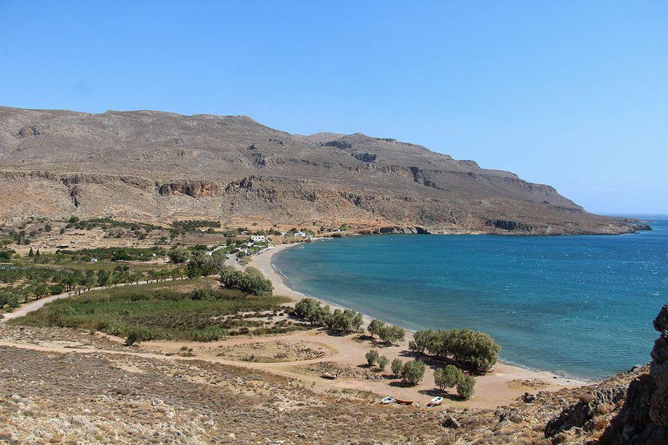 Το αρχαίο φυσικό λιμάνι...