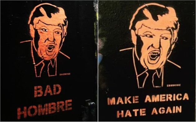 Street Artist SubDude Protests The Age Of Donald Trump With