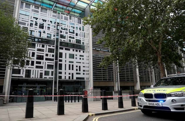 London Home Office On Lockdown After Stabbing