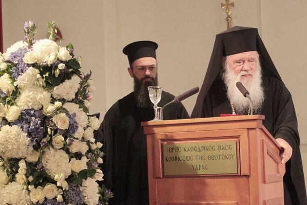 Αρχιεπίσκοπος Ιερώνυμος: Αυτός ο τόπος πήγε μπροστά όταν ήταν ενωμένος και
