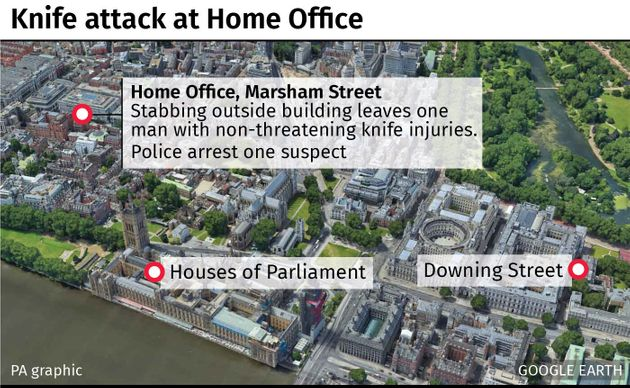 Home Office Stabbing: Man Arrested Over Incident In Westminster
