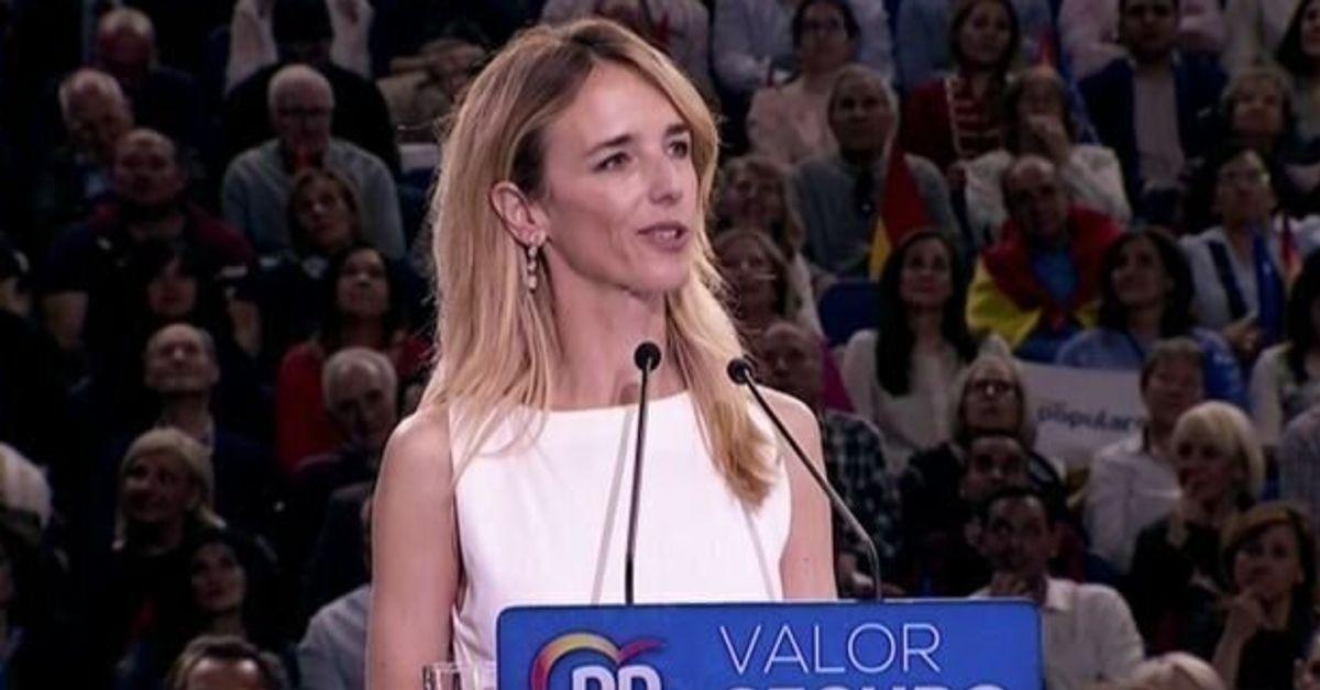 La 'popular' Cayetana Álvarez de Toledo se moja en el caso de Plácido Domingo