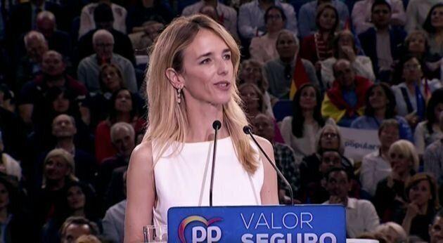 La 'popular' Cayetana Álvarez de Toledo se moja en el caso de Plácido