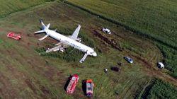 Αναγκαστική προσγείωση αεροπλάνου με 233 επιβαίνοντες στη Μόσχα: Η στιγμή του