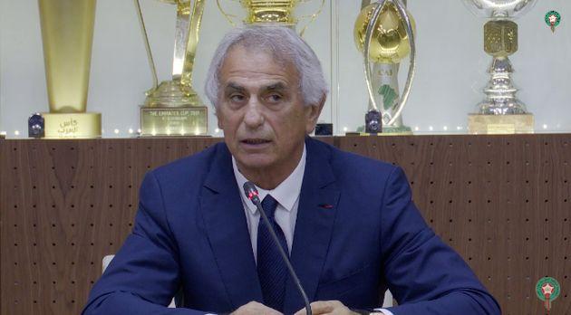 """Vahid Halilhodžić : """"Entraîner l'équipe nationale du Maroc est un grand challenge pour moi"""""""