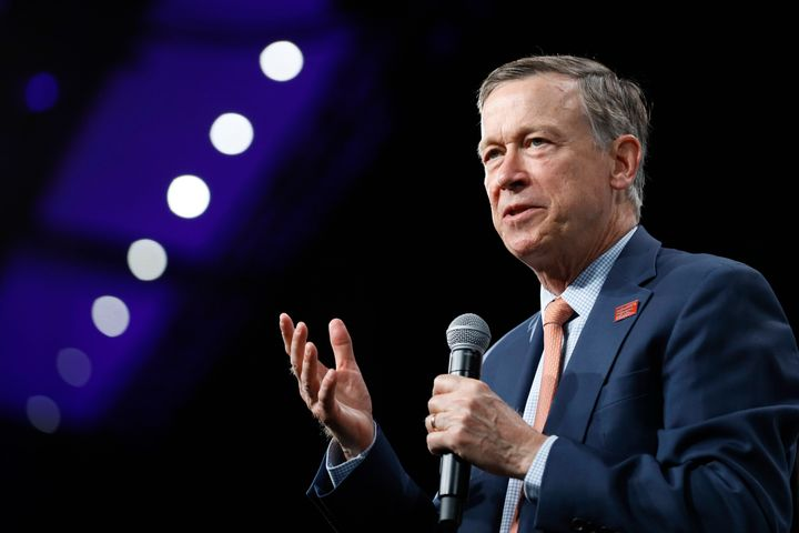 Former Colorado Gov. John Hickenlooper appeared unlikely to qualify for the September primary debate.
