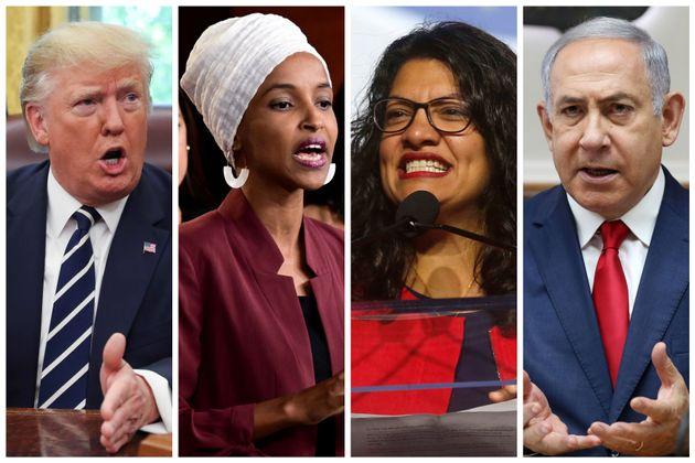 «Όχι» του Ισραήλ σε επίσκεψη των μουσουλμάνων Ρασίντα Τλαΐμπ και Ιλχάν Ομάρ, μελών του Κογκρέσου των