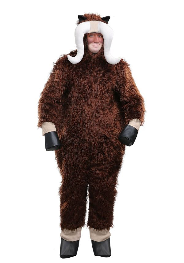 "I musk ox you a question: Do you really want to <a href=""https://www.halloweencostumes.com/muskox-costume.html"" target=""_blan"