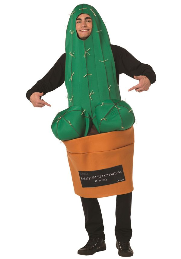 As you might have figured, what this cactus costume lacks in subtlety, it more than makes up in tackiness. Honestly, some peo
