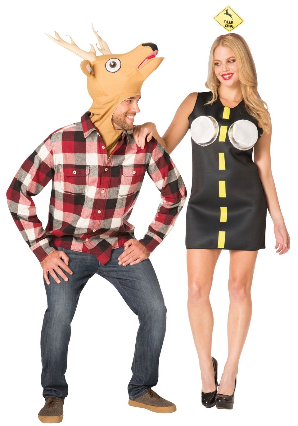 One of Halloween's most glorious traditions is the couples costume. A two-part costume that shows the world that the two of y