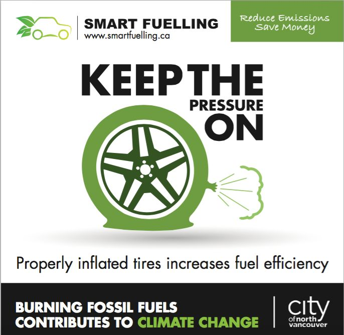 """A """"Smart Fuelling"""" sticker that has appeared on gas pumps in North Vancouver. It was designed by the Canadian Independent Petroleum Marketers Association."""