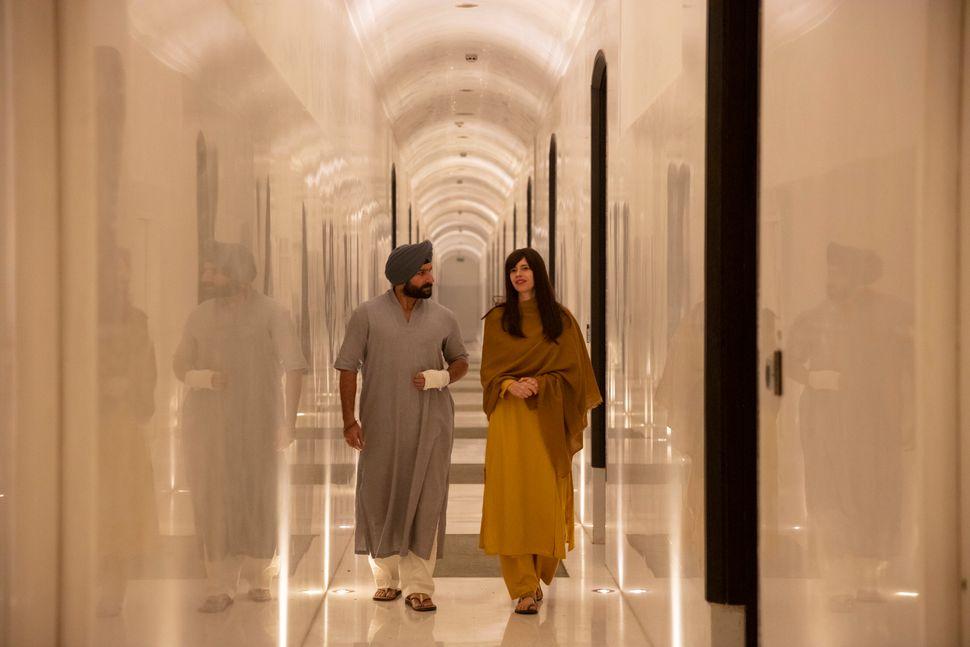 Saif Ali Khan and Kalki Koechlin in Sacred Games 2