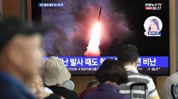 북한이 6일 만에 또 동해로 '미상발사체' 2발을