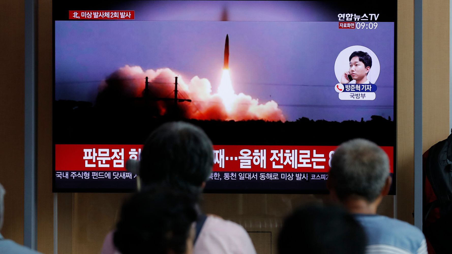 South Korea Military Says North Korea Fired More Projectiles Into Sea