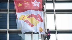 À Hong Kong, Alain Robert le