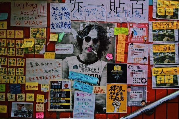 香港全土に広がる抗議の波。