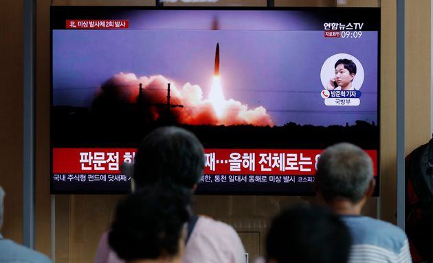 H Σεούλ υποστηρίζει πως η Βόρεια Κορέα εκτόξευσε ξανά