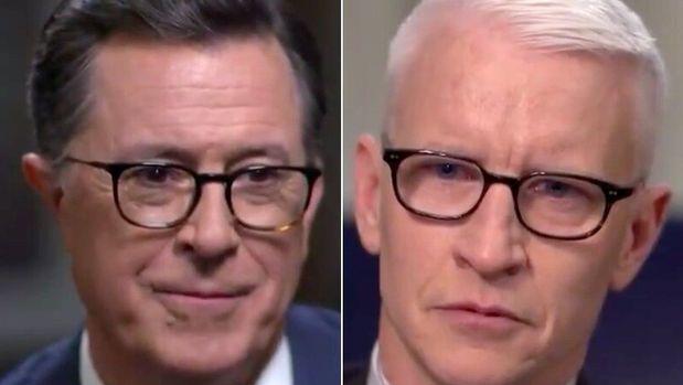 Stephen Colbert, Anderson Cooper