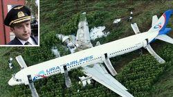 Come il pilota russo è riuscito a far atterrare l'aereo senza motori, salvando 226