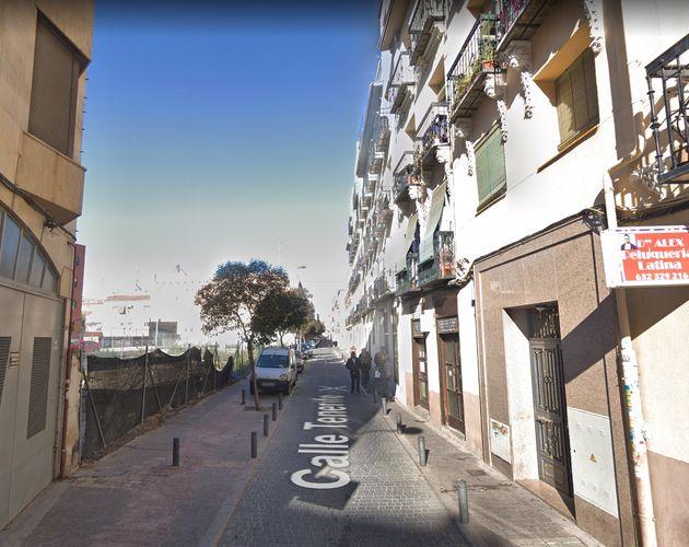 La calle Tenerife de Madrid, donde se ha encontrado el