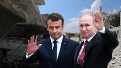 Les noms des victimes civiles syriennes s'invitent à la rencontre