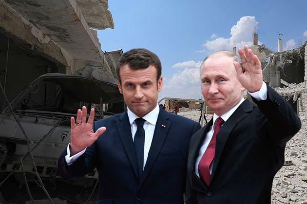Emmanuel Macron et Vladimir Poutine essayeront de s'accorder sur la question syrienne lors de leur rencontre...