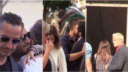 Le Iene si stringono in un abbraccio al funerale di Nadia Toffa: