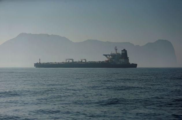 Le pétrolier iranien à Gibraltar va partir en