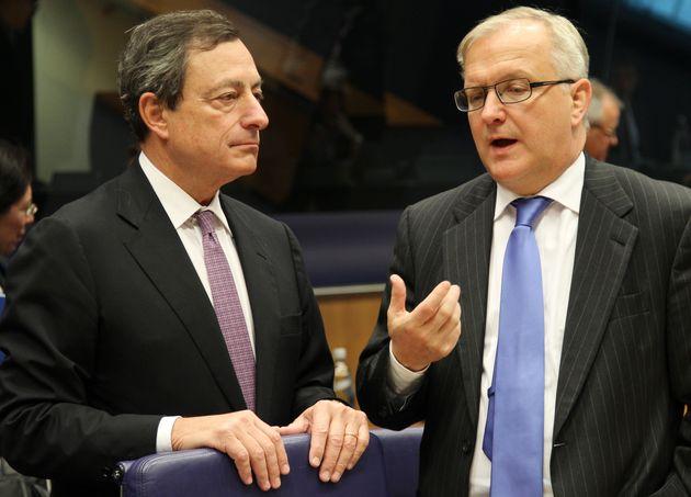 Ci pensa ancora Draghi. Rehn al Wsj:
