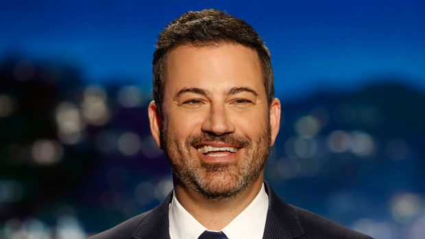 "JIMMY KIMMEL LIVE! - ""Jimmy Kimmel Live!"" airs every weeknight at 11:35 p.m. EDT and features a diverse lineup of guests that include celebrities, athletes, musical acts, comedians and human interest subjects, along with comedy bits and a house band. The guests for Wednesday, July 10, included Seth Rogen (""The Lion King""), Dave Bautista (""Stuber""), and musical guest Jaden Smith. (Randy Holmes/ABC via Getty Images) JIMMY KIMMEL"