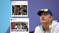 Twitter Has A Lot Of Thoughts After Ravi Shastri Is Re-Appointed As Head