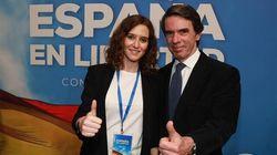 Aznar bendice a Díaz