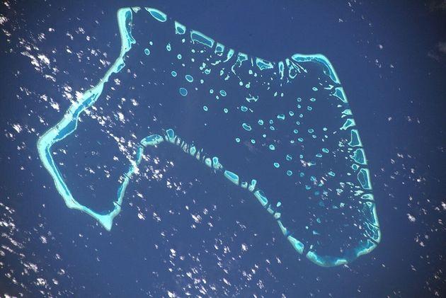 Luca Parmitano lancia l'allarme dallo spazio per le Maldive: