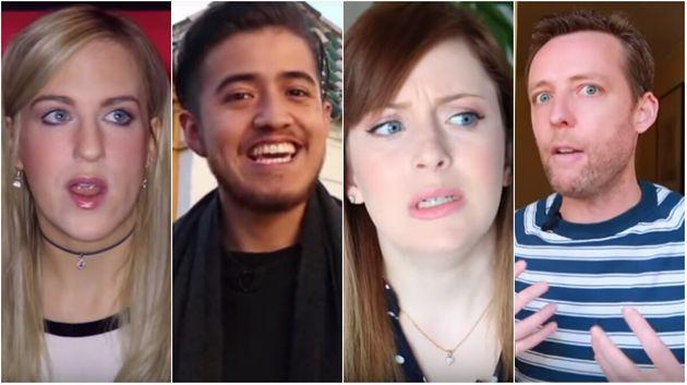 Algunos de los youtubers extranjeros que han grabado sus impresiones sobre España tras visitar...