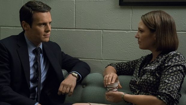 """Jonathan Groff and Anna Torv in """"Mindhunter"""""""