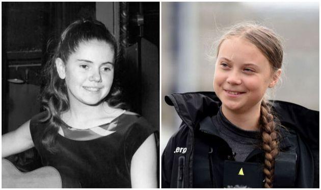 Pourquoi Minou Drouet et Greta Thunberg ont plus d'un point commun