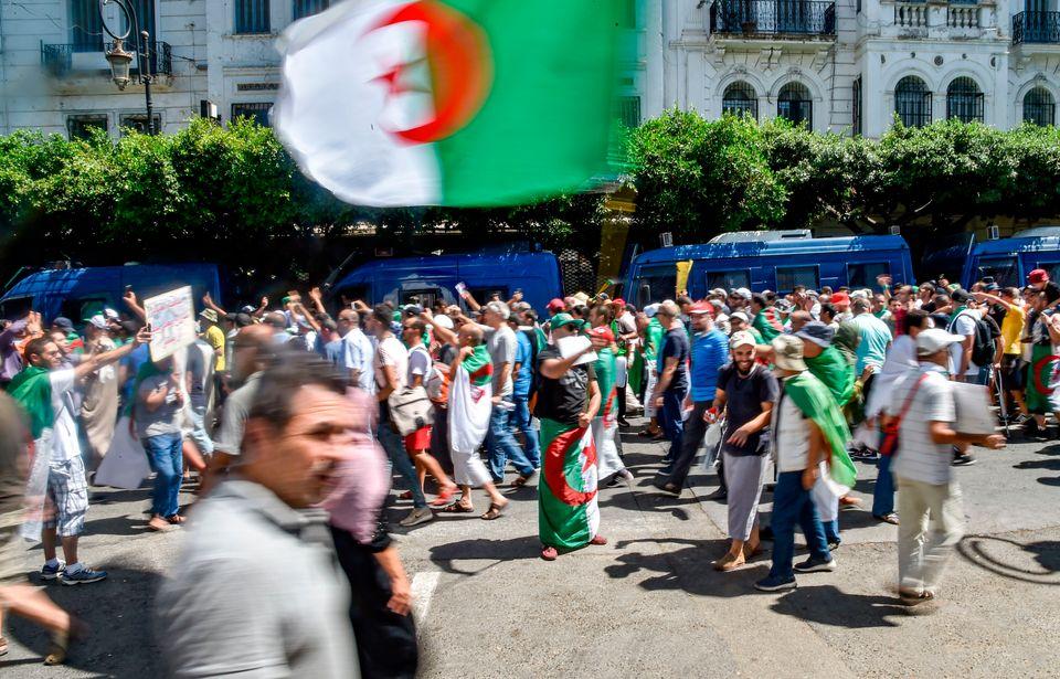 La manifestation du Vendredi 26 à Alger en quelques