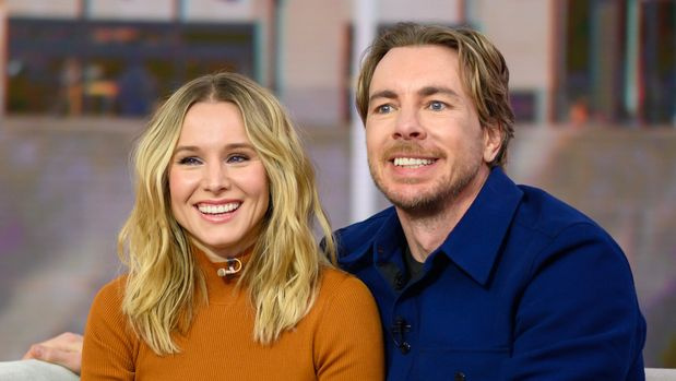 TODAY -- Pictured: Kristen Bell and Dax Shepard on Monday, February 25, 2019 -- (Photo by: Nathan Congleton/NBC/NBCU Photo Bank via Getty Images)