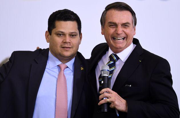 Presidente do Senado, Davi Alcolumbre (DEM-AP) tem sido aliado de Bolsonaro na missão de fazer...