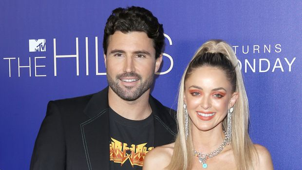 "LOS ANGELES, CALIFORNIA - JUNE 19: Kaitlynn Carter Jenner and Brody Jenner attend the Los Angeles premiere of MTV's ""The Hills: New Beginnings"" held at Liaison on June 19, 2019 in Los Angeles, California. (Photo by Michael Tran/FilmMagic)"
