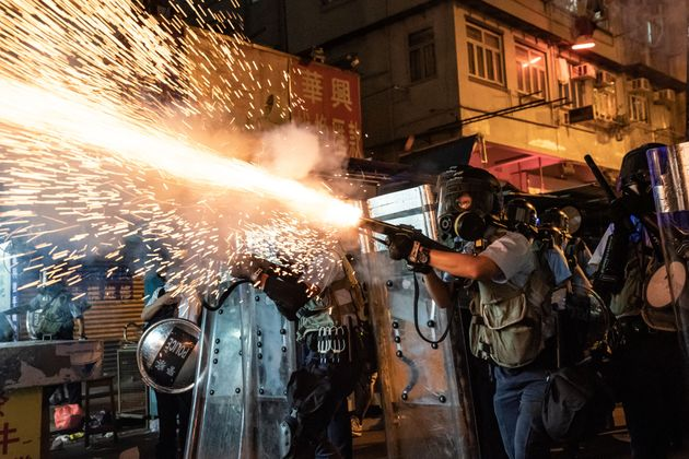 Hong Kong law enforcement has been accused of excessive force by international watchdog
