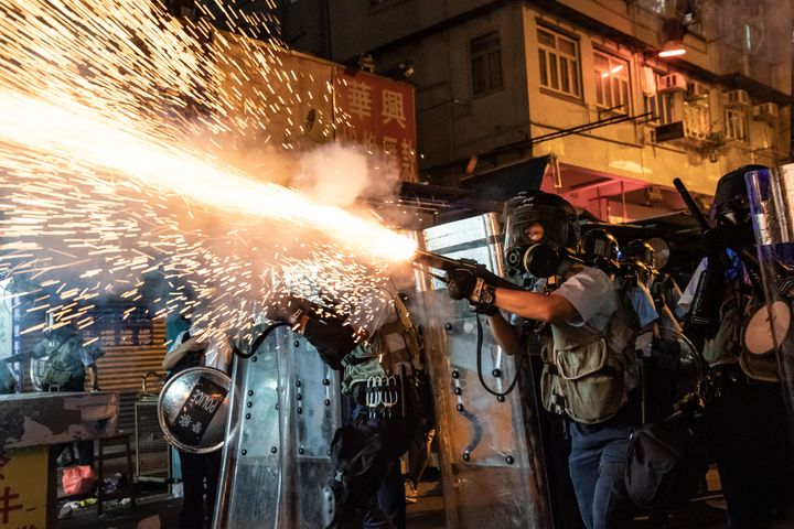 Hong Kong law enforcement has been accused of excessive force by international watchdog groups.