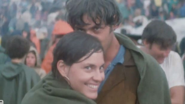 Judy and John Griffin met at Woodstock