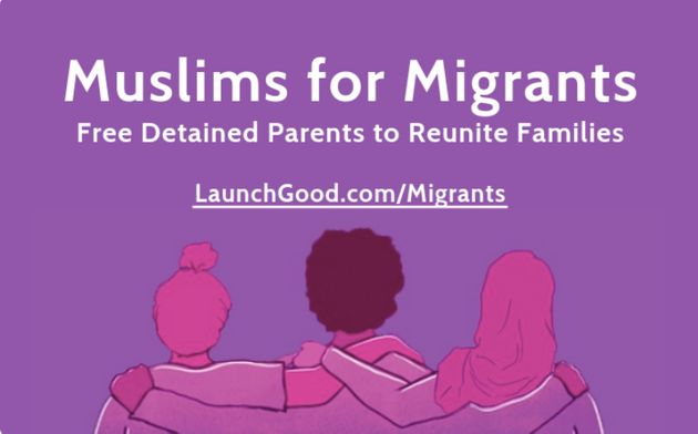 The Muslims for Migrants campaign seeks to bail out detained migrant