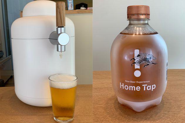 キリンの生ビールサブスクリプション「Home Tap」工場直送の美味しさにハマる